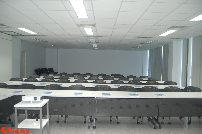 Training room at Nipro Pharma Vietnam
