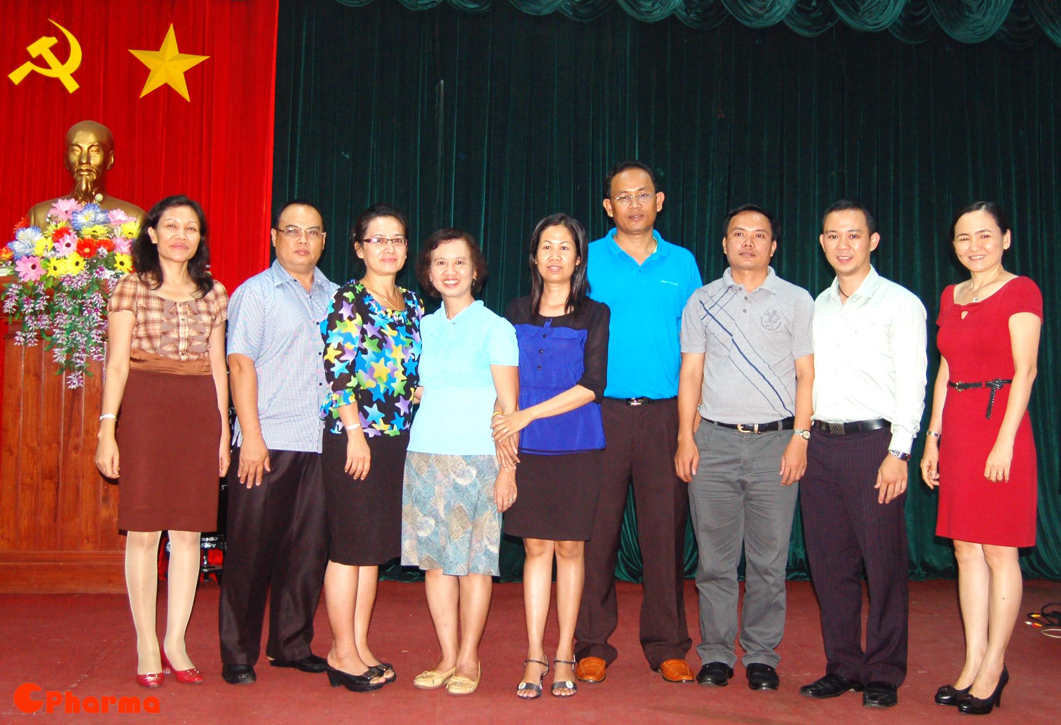 Đoàn học viên đến từ Lào