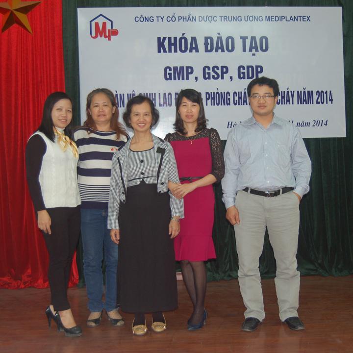 Huấn luyện GMP, GSP, GDP tại Mediplantex