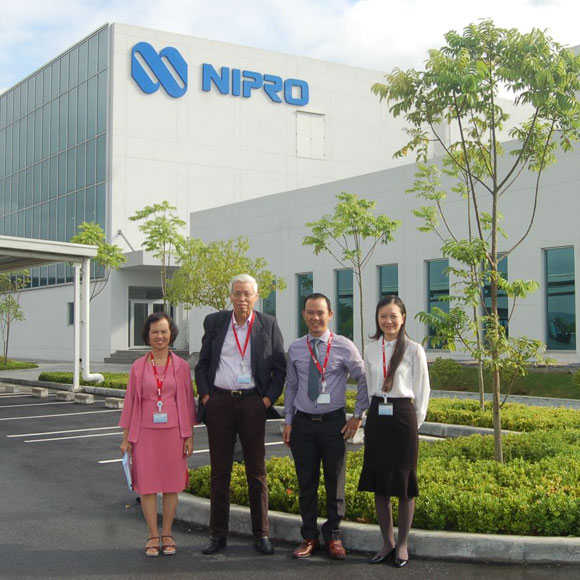 Training at Nipro Pharma Vietnam