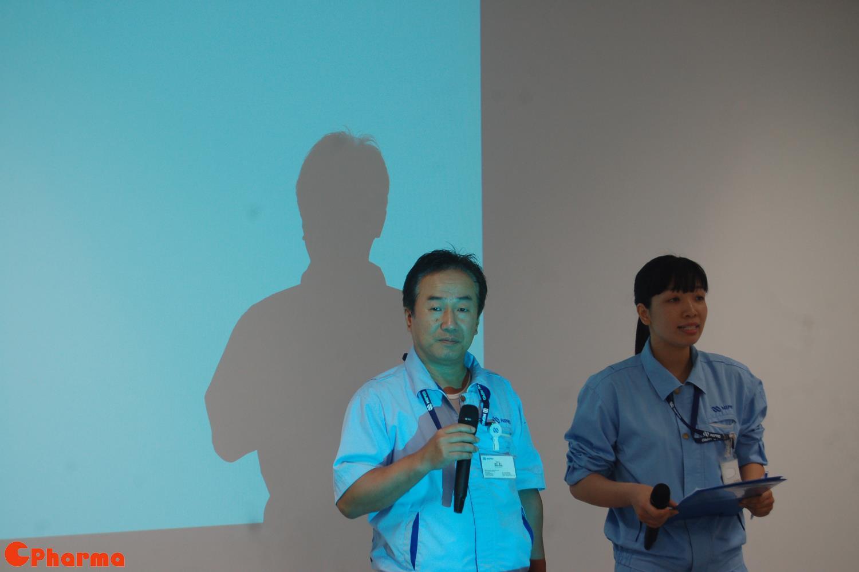Phó Tổng giám đốc Shinji Araki phát biểu khai mạc