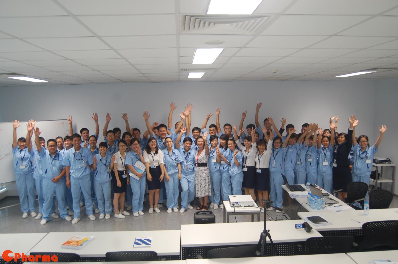 Khóa tập huấn GMP căn bản cho toàn thể nhân viên Nipro Pharma Vietnam