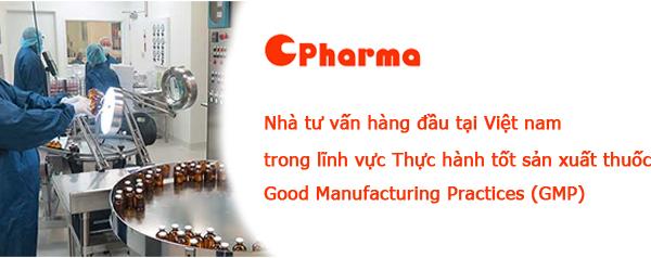 CPharma tư vấn GMP chuyên nghiệp hàng đầu Việt nam